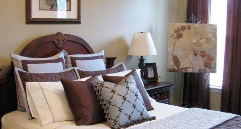 Best Blue Brown Bedrooms Rooms Pinterest