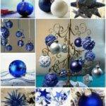 Best Blue Silver Holiday Decorating