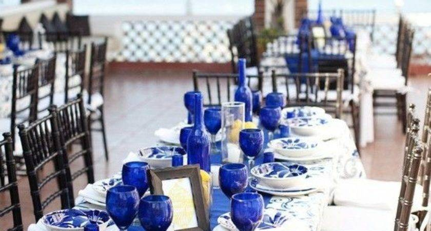 Best Blue Table Settings Ideas Pinterest