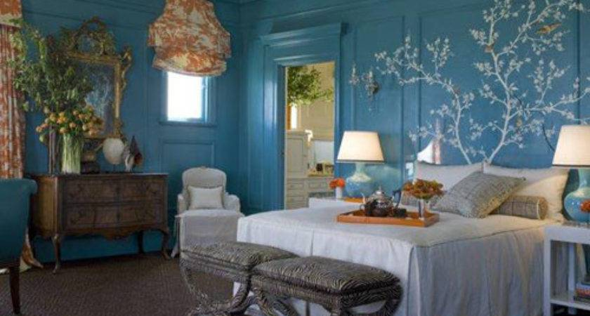 Best Blue Wall Color Bedroom Home Decorating Ideas