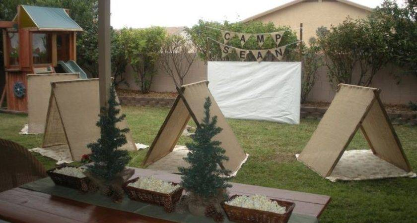 Best Camping Party Decorations Ideas Pinterest