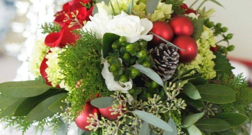 Best Christmas Floral Arrangements Ideas Pinterest