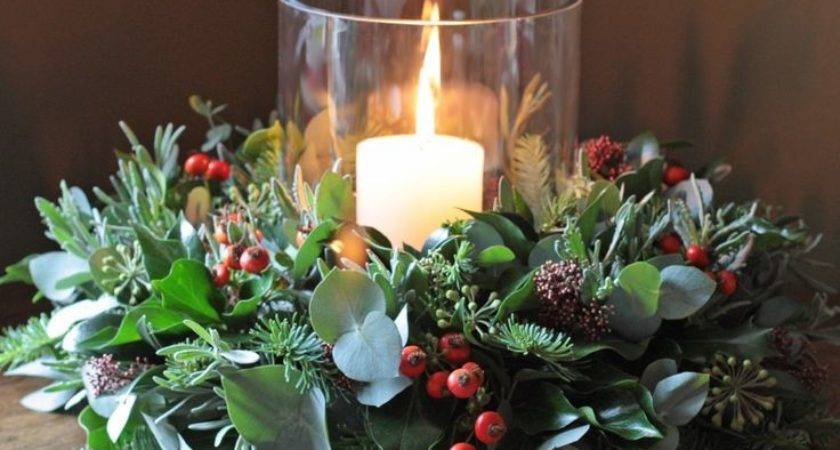 Best Christmas Table Centerpieces Ideas Pinterest