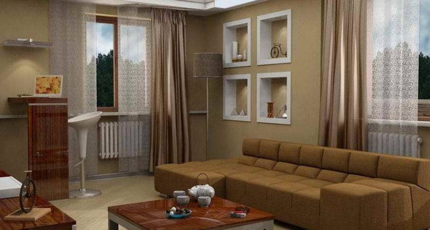 Best Color Paint Living Room Brown Home