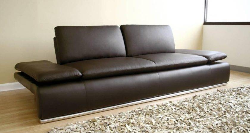 Best Contemporary Brown Leather Sofas Sofa Ideas