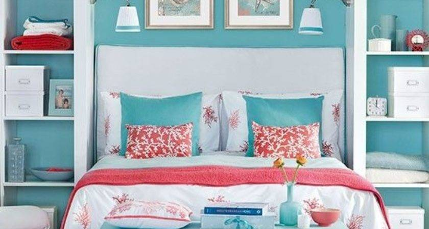 Best Coral Turquoise Bedding Ideas Pinterest
