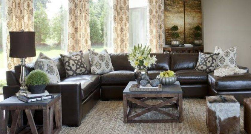 Brown Decor Living Room Ideas Photo