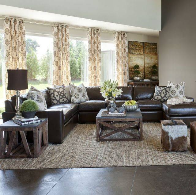 18 Simple Brown Decor Living Room Ideas Photo Homes Decor