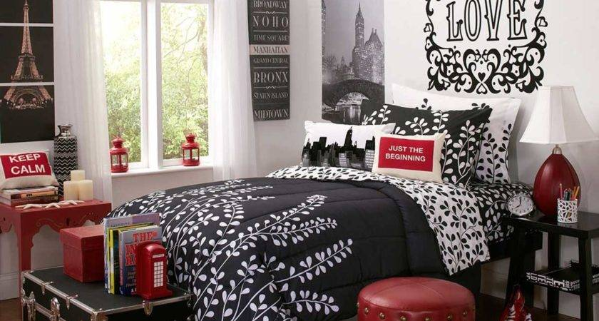 Best Design Red Black Bedroom Interior Decobizz