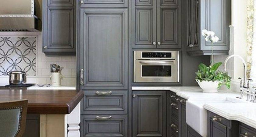 Best Grey Color Kitchen Cabinets Beautiful Modern Home