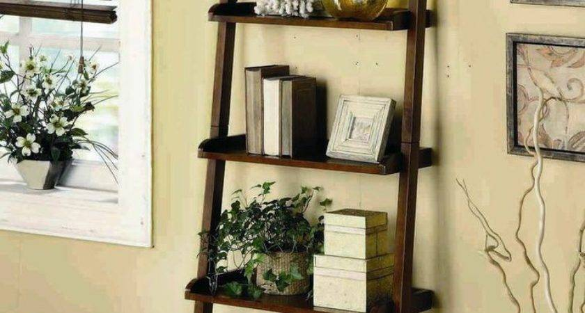 Best Ladder Shelf Decor Ideas Pinterest