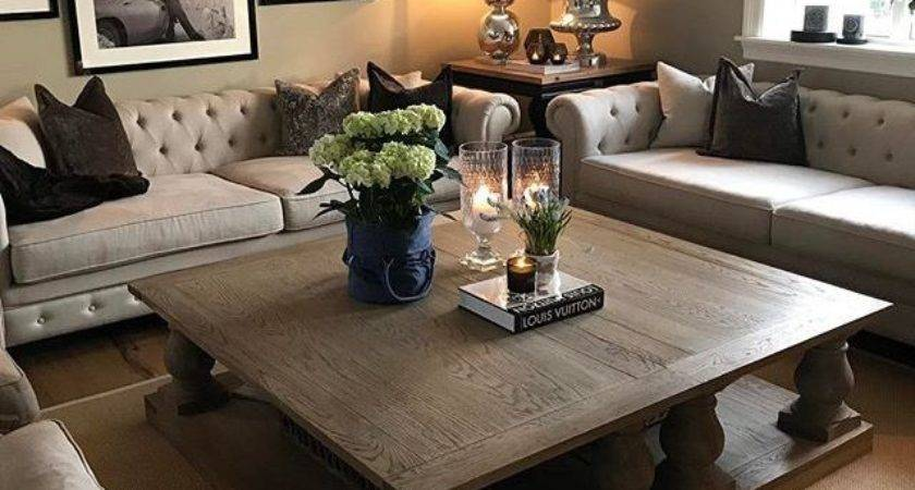 Best Large Square Coffee Table Ideas Pinterest