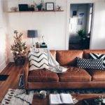 Best Leather Couch Decorating Ideas Pinterest