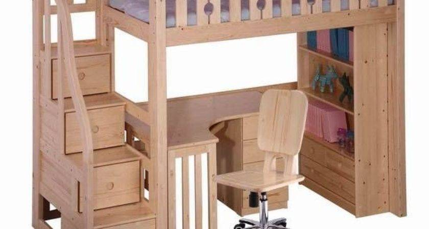Best Loft Bed Desk Ideas Pinterest Bunk