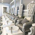 Best Nail Salon Decor Ideas Pinterest Beauty