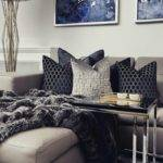 Best Navy Blue Grey Living Room Ideas Pinterest
