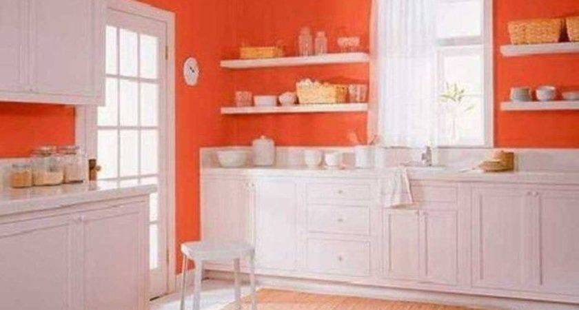 Best Orange Kitchen Walls Ideas Pinterest Burnt