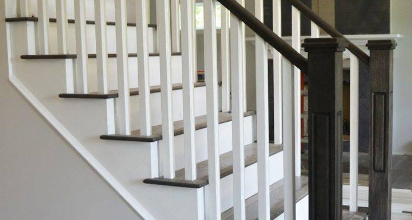 Best Painted Stair Railings Ideas Pinterest Black