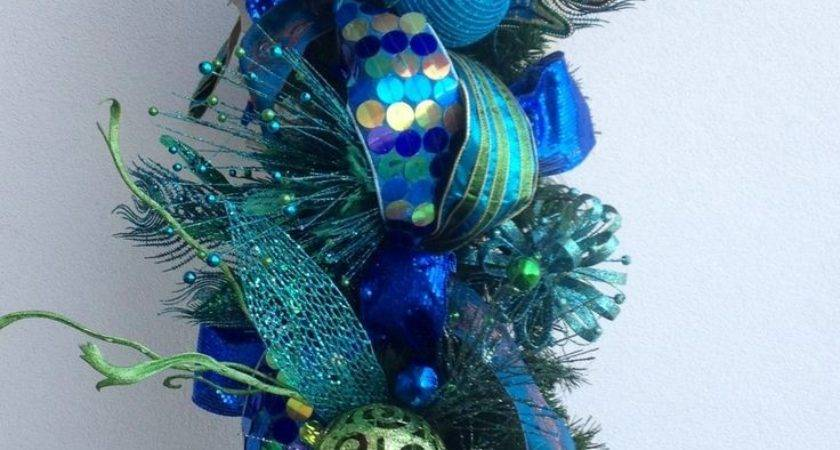 Best Peacock Christmas Ideas Pinterest