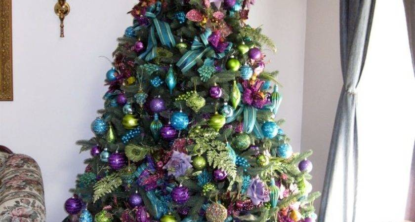 Best Peacock Christmas Tree Ideas Pinterest