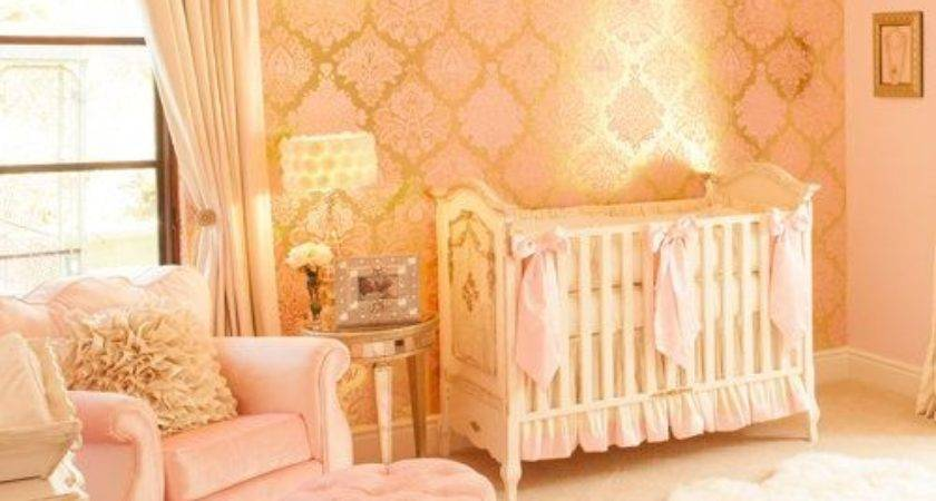 Best Pink Gold Nursery Ideas Pinterest