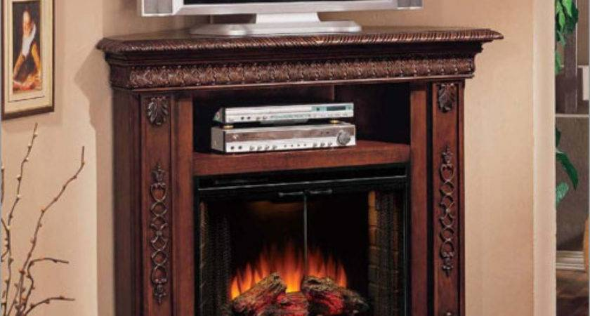 Best Place Corner Stand Fireplace Home