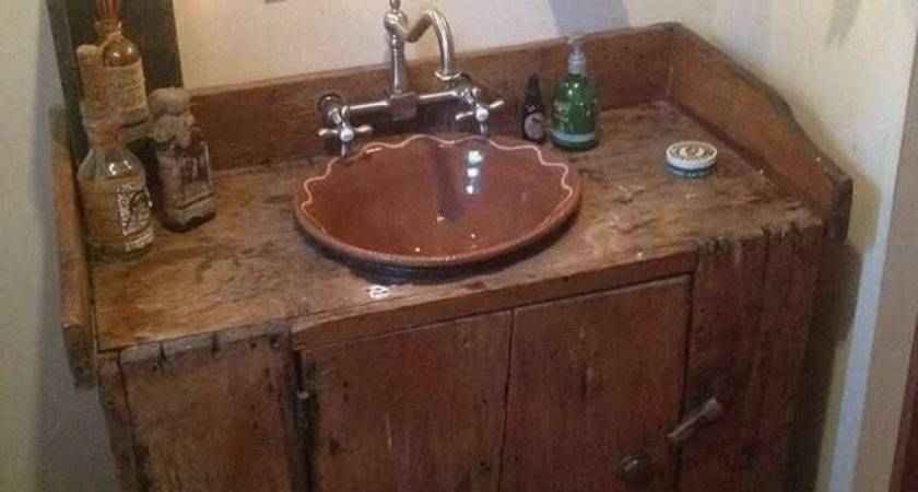 Best Primitive Bathroom Decor Ideas Pinterest
