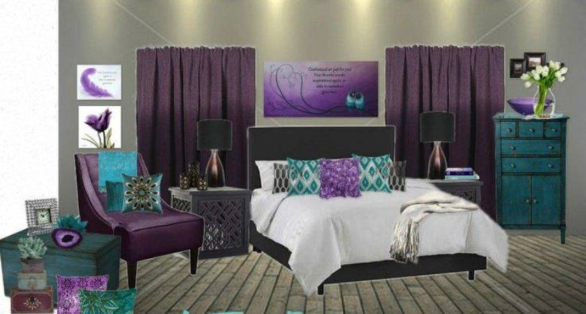 Best Purple Teal Bedding Ideas Pinterest