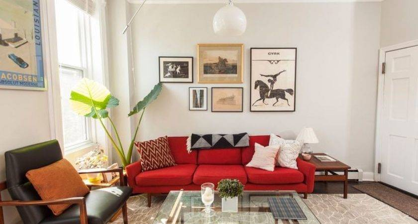 Best Red Sofa Ideas Pinterest Couch