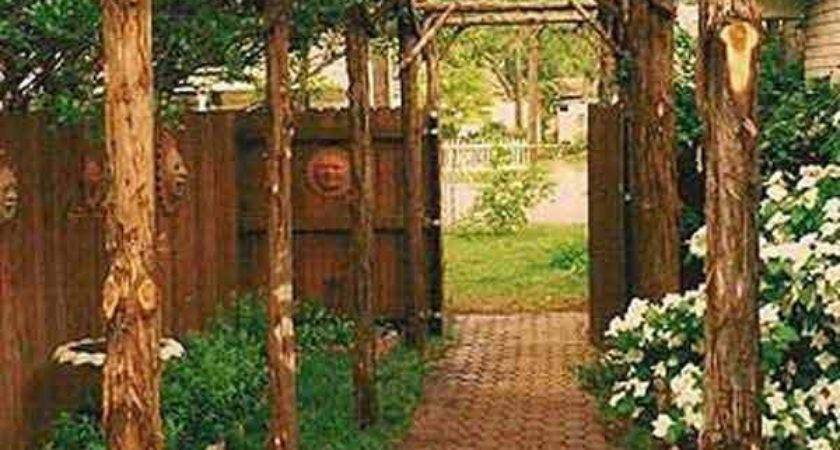 Best Rustic Pergola Ideas Pinterest Small Garden