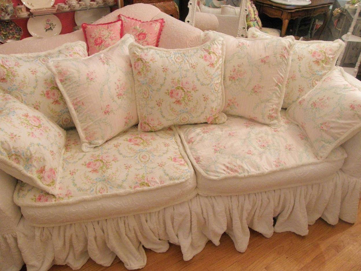 Best Shabby Chic Sofas Covers Homes Decor