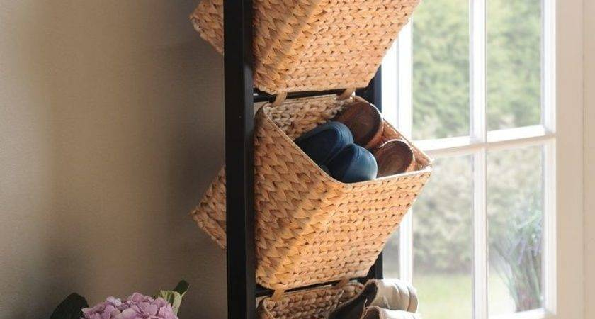 Best Shoe Basket Ideas Pinterest Storage