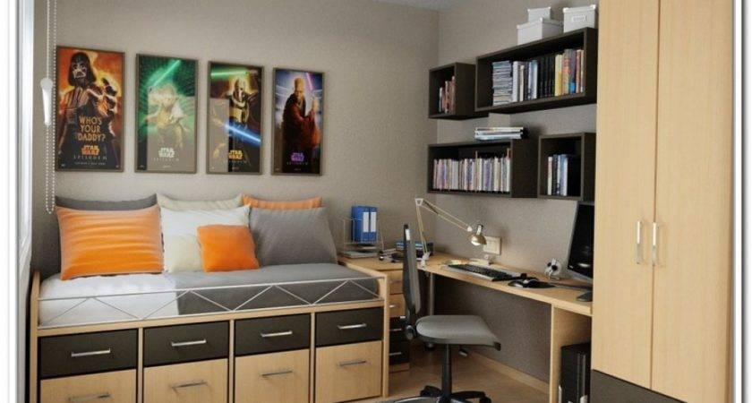 Best Storage Ideas Small Spaces Bedroom