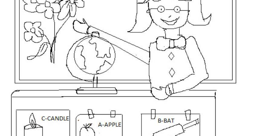 Best Teacher Award Coloring Pages
