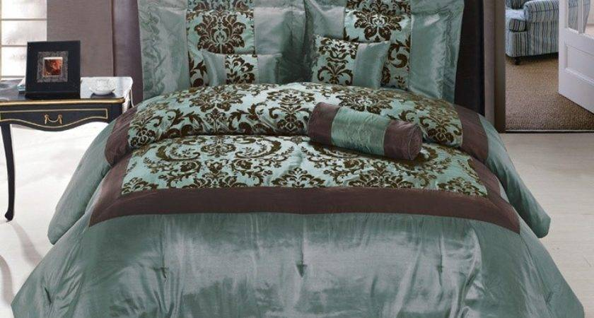 Best Turquoise Brown Bedding Pinterest