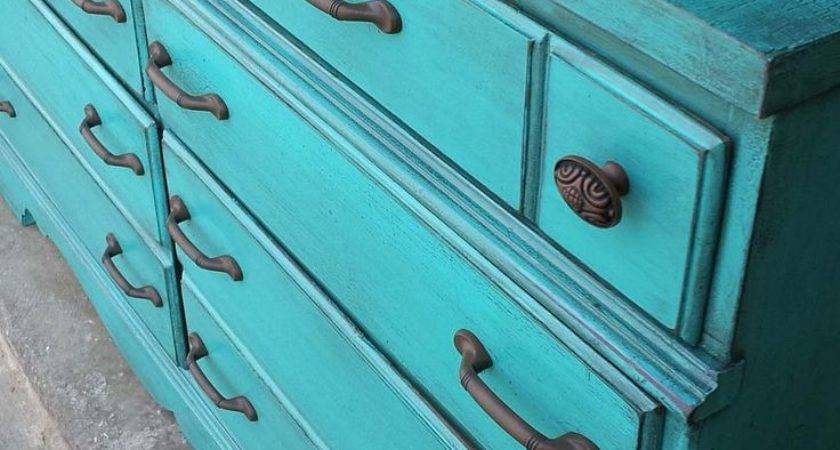 Best Turquoise Dresser Ideas Pinterest Painted