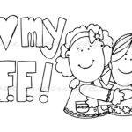 Bff Coloring Pages Print