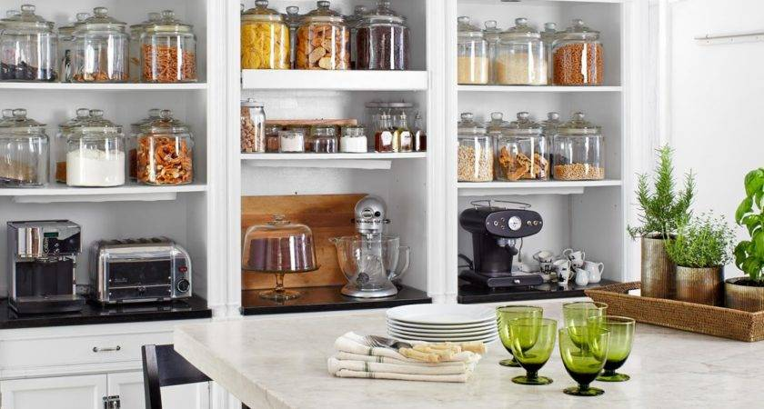 Big Storage Diy Small Kitchen Green Glass Side