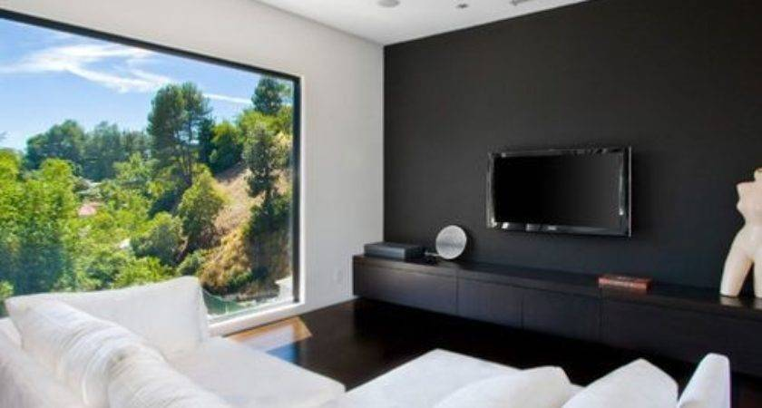 Black Accent Wall Houzz