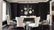 Black Create Stunning Refined Dining Room