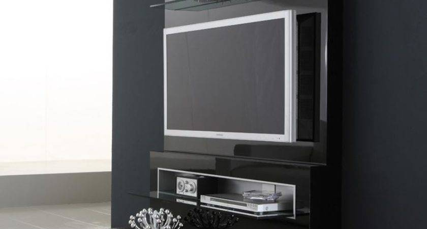 Black Diamond Wall Mounted Modern Cabinets Design