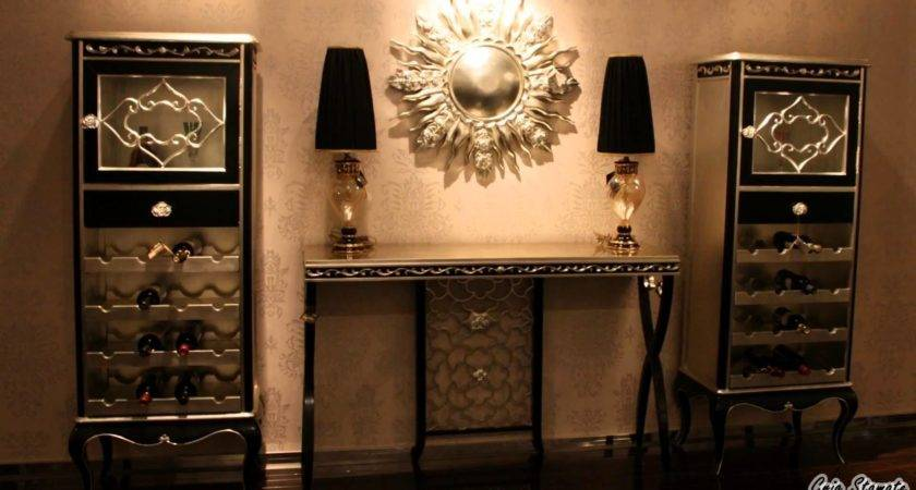 Black Gold Decor Accessories Stylish Interior