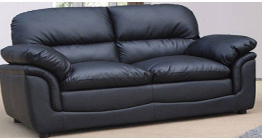 Black Leather Couch Inertiahome