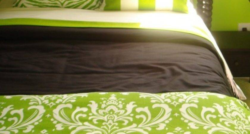 Black Lime Green Bedding Red