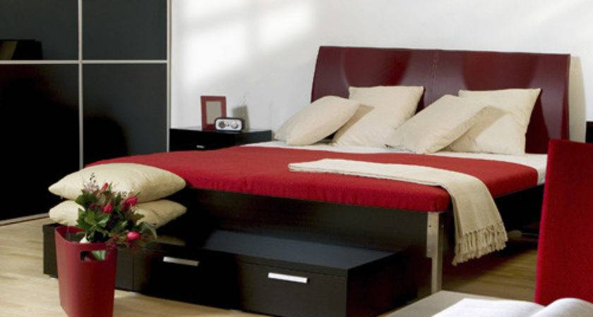 Black Red Bedroom Design Ideas Modern Diy Art Designs