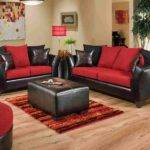 Black Red Sofa Set Designs