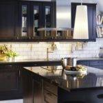 Black Silver Kitchen Decor