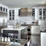 Black Silver Kitchen Designs Peenmedia