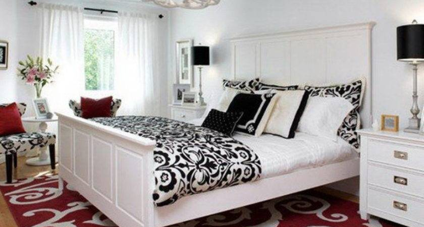 Black White Bedroom Decorating Ideas Dream House