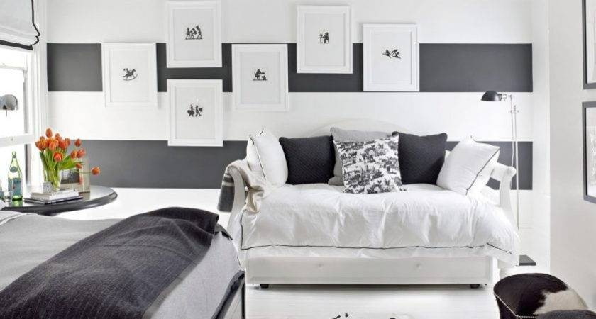 Black White Bedroom Decorating Ideas Master